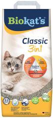 Акция на Наполнитель для кошачьего туалета Biokat's Classic 3 в 1 Бентонитовый комкующий 10 кг (10 л) (4002064614458/4002064613307) от Rozetka