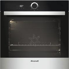 Акция на Духовой шкаф электрический Brandt BXE5532X от Rozetka