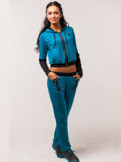 Спортивный костюм Mila Nova М-15 44 Бирюзовый (mila2943750016434) от Rozetka