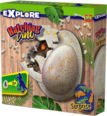 Акция на Растущая игрушка Ses Creative Дино в яйце в ассортименте (8710341250638) (25063S) от Rozetka