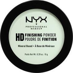 Акция на Пудра NYX Professional Makeup High Definition Finishing Powder 3 Mint Green 8 г (800897834685) от Rozetka
