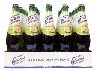 Акция на Упаковка лимонада Natakhtari Груша 0.5 л х 20 бутылок (4860001120437) от Rozetka