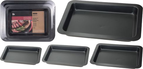Акция на Набор форм для выпекания La Cucina 3 шт (170112560) от Rozetka