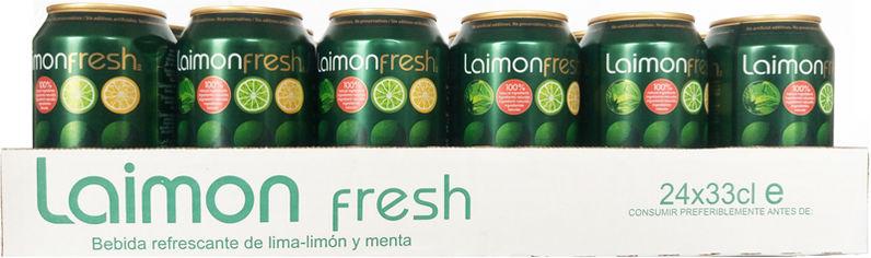 Упаковка безалкогольного напитка Laimon fresh 0.33 л х 24 банки (58410470300017) от Rozetka