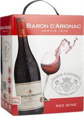 Акция на Вино Baron dArignac Rouge красное полусухое 5 л 12% (3500610103919) от Rozetka