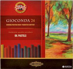 Акция на Мел-пастель сухая Koh-i-Noor Gioconda маслянная 24 цвета (8354024001KS) (8593539148029) от Rozetka