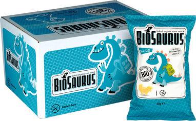 Упаковка снеков кукурузных Mclloyd's Динозаврики с морской солью 50 г х 12 шт (8588004638334/8588004638365) от Rozetka
