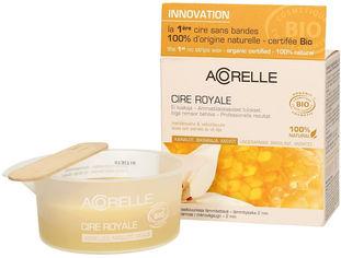 Акция на Воск нежный для депиляции деликатных зон Acorelle Пчелиное молочко органический 100 г (3700343040141) от Rozetka