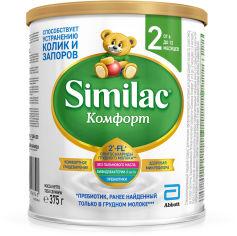 Сухая молочная смесь Similac Комфорт 2 375 г (8427030006840) от Rozetka