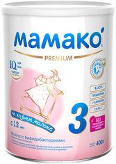 Акция на Смесь MAMAKO 3 Premium с бифидобактериями от 12 месяцев 400 г (4670017090491) от Rozetka