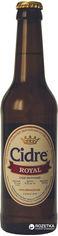 Акция на Упаковка сидра Роял полусладкий Яблочный 5-6.9% 0.33 л x 12 бутылок (4820120800405) от Rozetka
