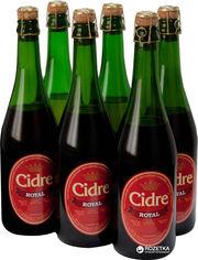 Акция на Упаковка сидра Роял сладкий Вишневый 5-6.9% 0.7 л x 6 бутылок (4820120800375) от Rozetka