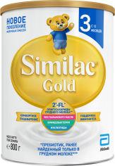 Акция на Сухая молочная смесь Similac Gold 3 800 г (5391523058643) от Rozetka