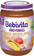 Упаковка молочной каши Bebivita с яблоками и бананами Спокойной ночи 190 г х 6 шт (9007253404785_9007253404945) от Rozetka