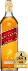 Акция на Виски Johnnie Walker Red label выдержка 4 года 0.7 л 40% (5000267014203) от Rozetka