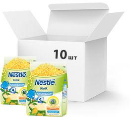 Упаковка безмолочных каш Nestle Кукурузных с 6 месяцев 10 шт х 160 г (7613033832109) от Rozetka