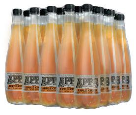 Упаковка сидра APPS Яблоко 5-6.9% 1 л x 12 бутылок (4820097894537) от Rozetka
