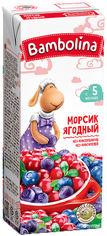 Упаковка морса Bambolina Ягодный 200 мл х 27 шт (4813538006057) от Rozetka