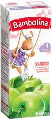 Акция на Упаковка яблочного сока Bambolina 200 мл х 27 шт (4813538003827) от Rozetka