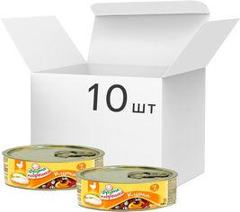 Акция на Упаковка мясного пюре Hame Курица с 7 месяцев 120 г х 10 шт (8595139774004) от Rozetka