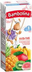 Упаковка мультифруктового сока Bambolina 200 мл х 27 шт (4813538004237) от Rozetka