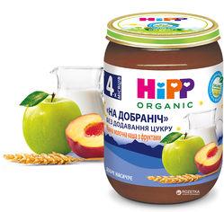 Упаковка манной молочной каши HiPP огранической с фруктами Спокойной ночи с 4 месяцев 190 г х 6 шт (9062300432999) от Rozetka
