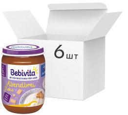 Упаковка молочной каши Bebivita с печеньем Спокойной ночи 190 г х 6 шт (9007253404815_9007253404976) от Rozetka
