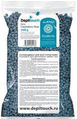 Акция на Воск для депиляции пленочный Depiltouch Professional Азулен в гранулах 1000 г (4630010602138) от Rozetka