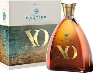 Акция на Коньяк Gautier XO 0.7 л 40% в подарочной упаковке (3269555551772) от Rozetka