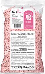 Воск для депиляции пленочный Depiltouch Professional Роза в гранулах 1000 г (4630010602114) от Rozetka
