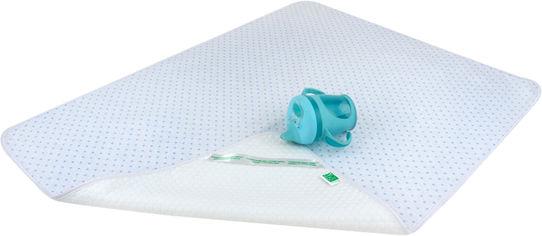Акция на Пеленка впитывающая непромокаемая Эко Пупс Soft Touch Premium Звездочки Синяя 65 х 90 см (EPG07W-6590bls) (2100033770081) от Rozetka