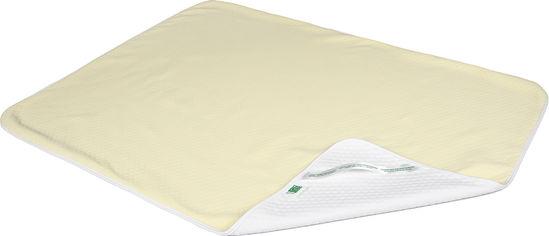 Акция на Пеленка впитывающая непромокаемая Эко Пупс Soft Touch Premium Желтая 65 х 90 см (2100033885099) от Rozetka
