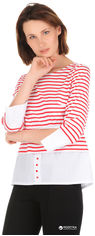 Блузка Рута-С 4101тр 42 (164-84-92) Красная в полоску от Rozetka