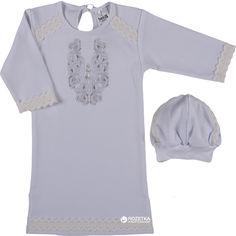 Крестильная рубашка + шапочка BetiS 27080735 Волшебство д.р. 86 см Белая (2916870146145) от Rozetka