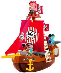 Акция на Конструктор Ecoiffier Корабль с пиратами 29 элементов (3023) (3280250030232) от Rozetka