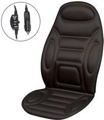 Акция на Накидка на сиденья с подогревом Lavita LA 140402BK 60 Вт Black (LA 140402BK) от Rozetka