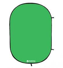 Фон тканевый Falcon Chroma Key Green на пружине 158х193 см (RBP-6276/BCP-10) от Rozetka