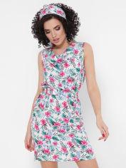 Акция на Сарафан Fashion Up Madison SRF-1770D 42 Зеленый с белым (2100000101146) от Rozetka