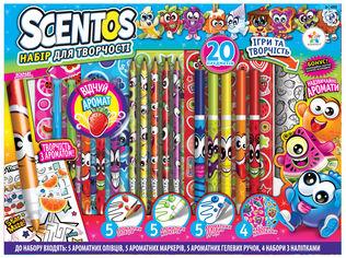 Акция на Ароматный набор для творчества Scentos Фруктомания (маркеры,ручки, карандаши,наклейки,раскраска) (42132) (8463760421324) от Rozetka