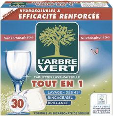 Акция на Таблетки для посудомоечных машин L'Arbre Vert 30 шт (3450601028458) от Rozetka