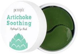Акция на Гидрогелевые успокаивающие патчи для глаз Petitfee Artichoke Soothing Eye Mask с экстрактом артишока 60 шт (8809508850559) от Rozetka