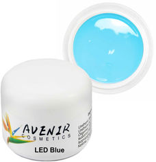 Гель для наращивания Avenir Cosmetics LED Blue 50 мл (5900308134207) от Rozetka