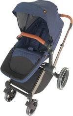 Акция на Детская коляска 2 в 1 Welldon WD007 Синяя (WD007-3) (4820212900327) от Rozetka