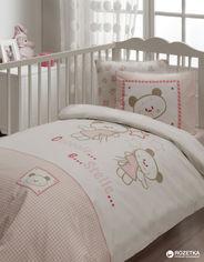 Акция на Комплект постельного белья Karaca Home Ранфорс Stelle 100x150 (svk-794) от Rozetka