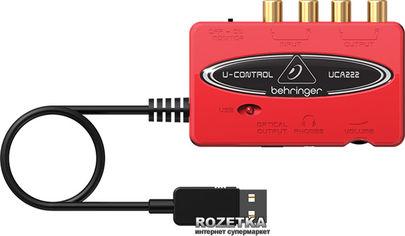 Акция на Аудиоинтерфейс Behringer UCA222 от Rozetka