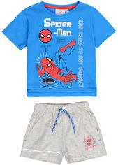 Костюм (футболка + шорты) Disney SE1181 Spiderman 98 см Blue (3609083426454) от Rozetka