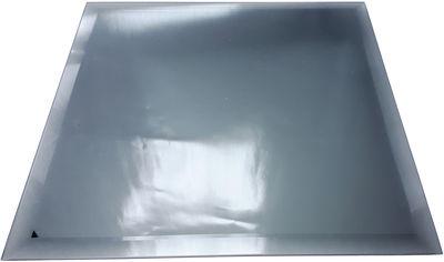 Акция на Зеркальная плитка UMT 600х600 мм фацет 15 мм графит (ПФГ 600-600) от Rozetka