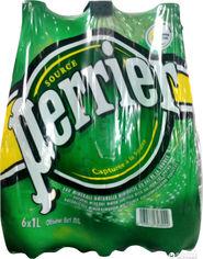 Акция на Упаковка минеральной газированной воды Perrier 1 л х 6 бутылок (3179732348913) от Rozetka