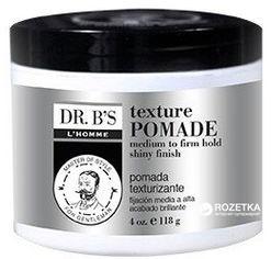 Акция на Паста для укладки Dr. B's L'Homme Man Care Texture Pomade 118 мл (755439352861) от Rozetka
