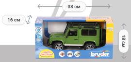 Акция на Игрушка Bruder Land Rover Defender М1:16 (02590) от Rozetka
